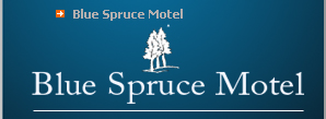 The Blue Spruce Motel in Old Forge, NY